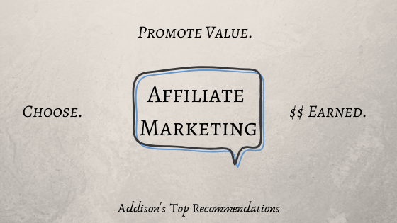 My Top Recommendations for Affiliate Programs