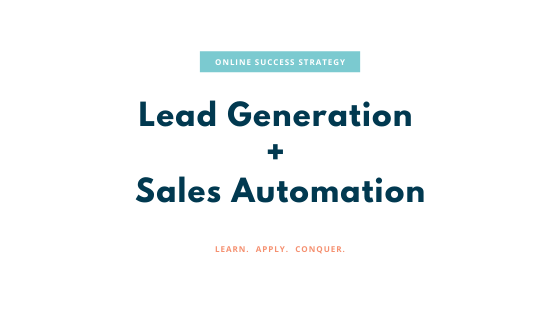 Lead Generation and Sales Automation